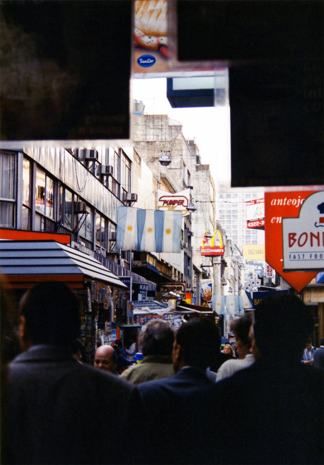 <p>The buzz of Calle Florida, in central Buenos Aires, Argentina.</p>