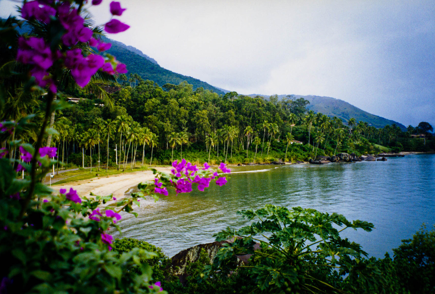 <p>A small beach on Ilhabela, a mountainous island not so distant – and yet a world away – from the urban expanse of São Paulo.</p>