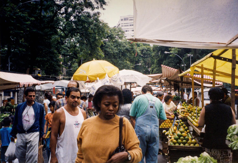 <p>The momentarily forlorn faces of shoppers at a market in Rio de Janeiro.<br /></p>