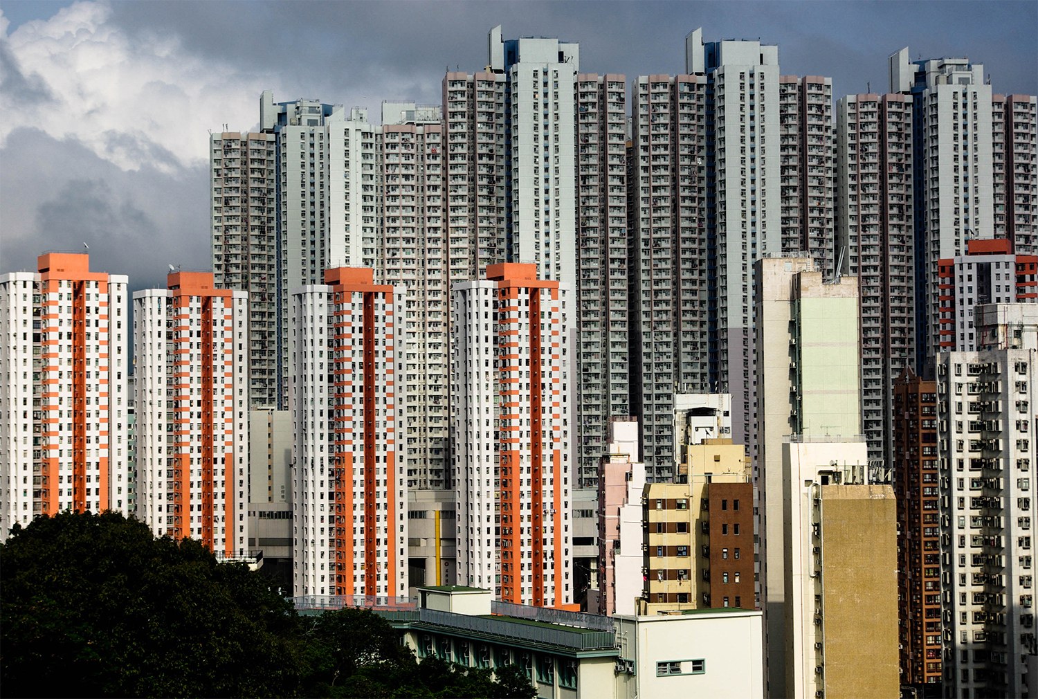 <p>Space-restricted Hong Kong has been building high-density high-rise housing for decades. More and more districts are taking on this character.<br /></p>