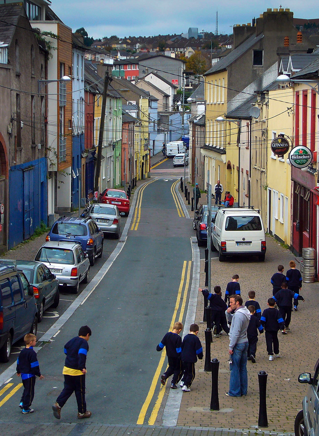 <p>Schoolkids on an outing in Cork.</p>