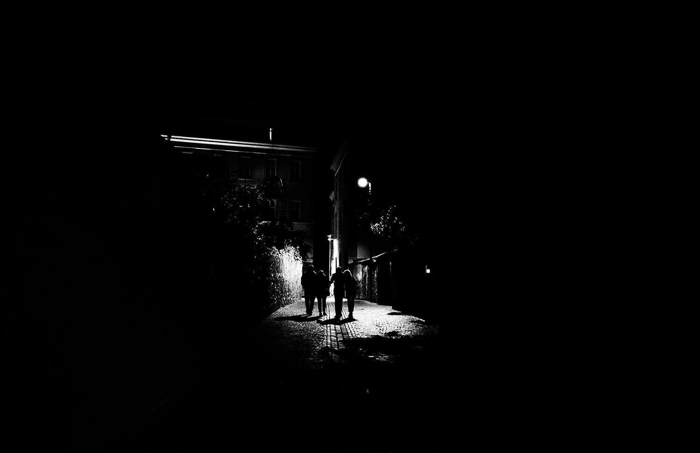<p>A night scene in Bressanone / Brixen.</p>