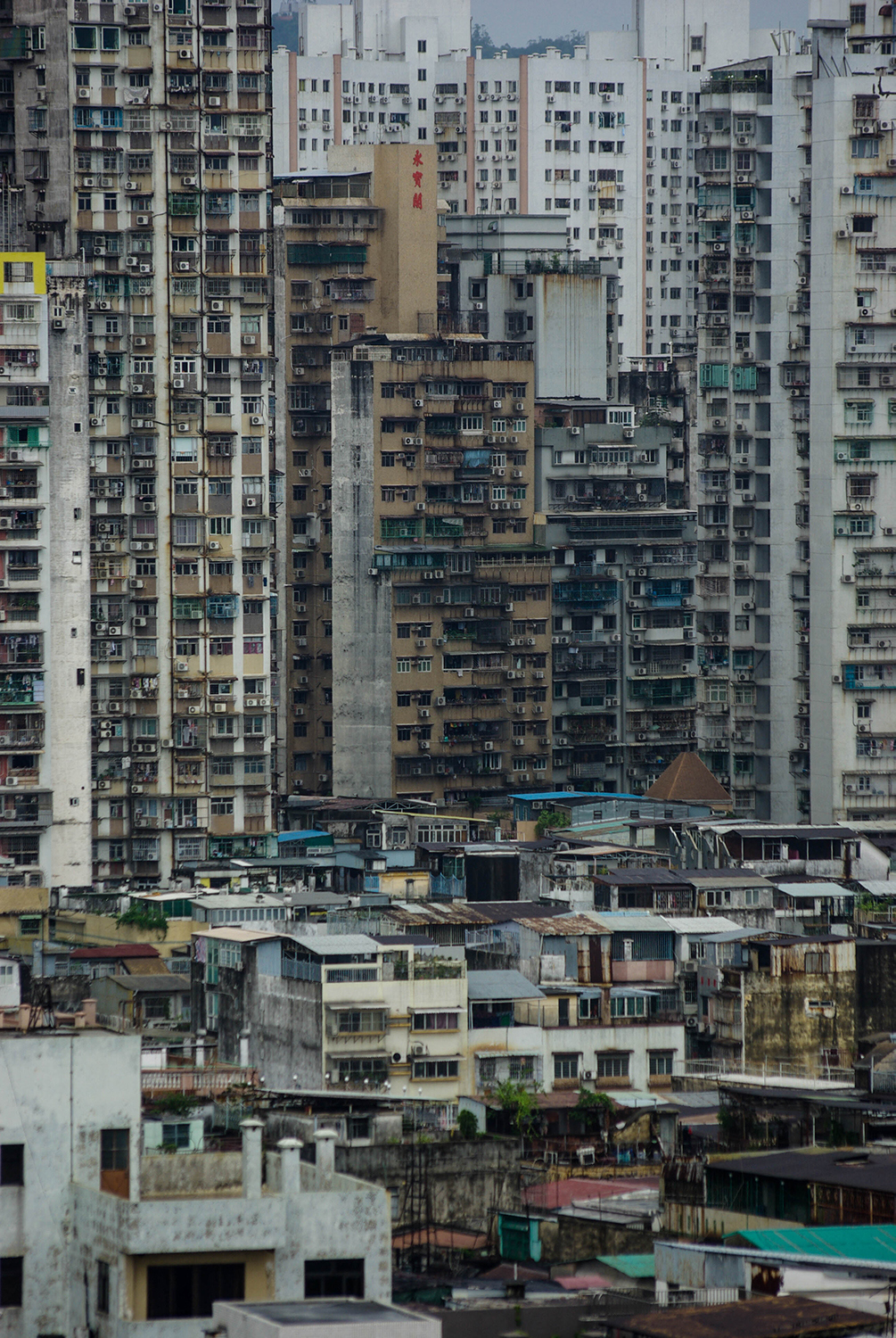 <p>Macao has some of the highest population density figures in the world. Some sections of the geographically constrained city are home to more than 20,000 people per square kilometre. </p>
